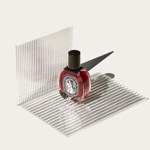 Image 3 - Plaque dombre à ondulation deau, accessoires de fond pour photographie acrylique, effet ondulé fin transparent, parfum, cosmétiques, accessoires de photographie
