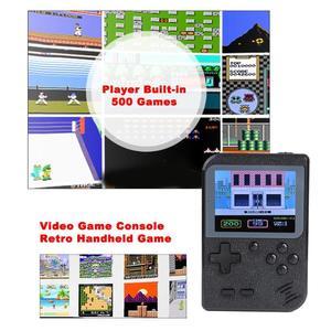 Image 3 - GC26ポータブルビデオゲームコンソール内蔵500クラシックゲームレトロハンドヘルドミニポケットゲームプレーヤーのギフトノスタルジックな再生