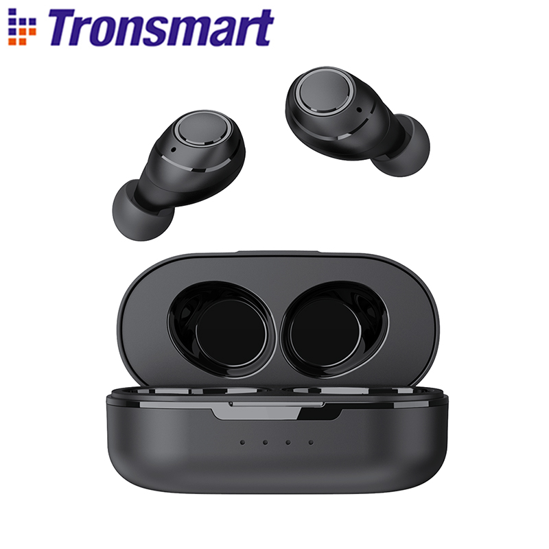 Tronsmart Onyx Free TWS Wireless Earbuds UV Bluetooth Earphones QualcommChip with aptX, IPX7 waterproof|Bluetooth Earphones & Headphones| - AliExpress