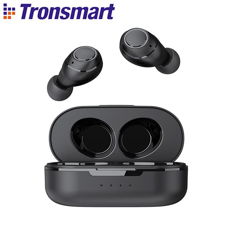 Tronsmart Onyx Free TWS sans fil écouteurs UV Bluetooth écouteurs QualcommChip avec aptX, IPX7 étanche