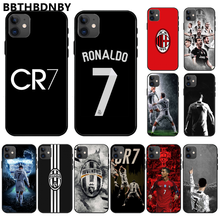 Ristiano Ronaldo CR7 Tpu Soft Silicone Cover Telefoon Case Cover Voor Iphone 11 Pro Max X Xs Xr 7 8 plus 6 6S 5 5S 5se Shell(China)