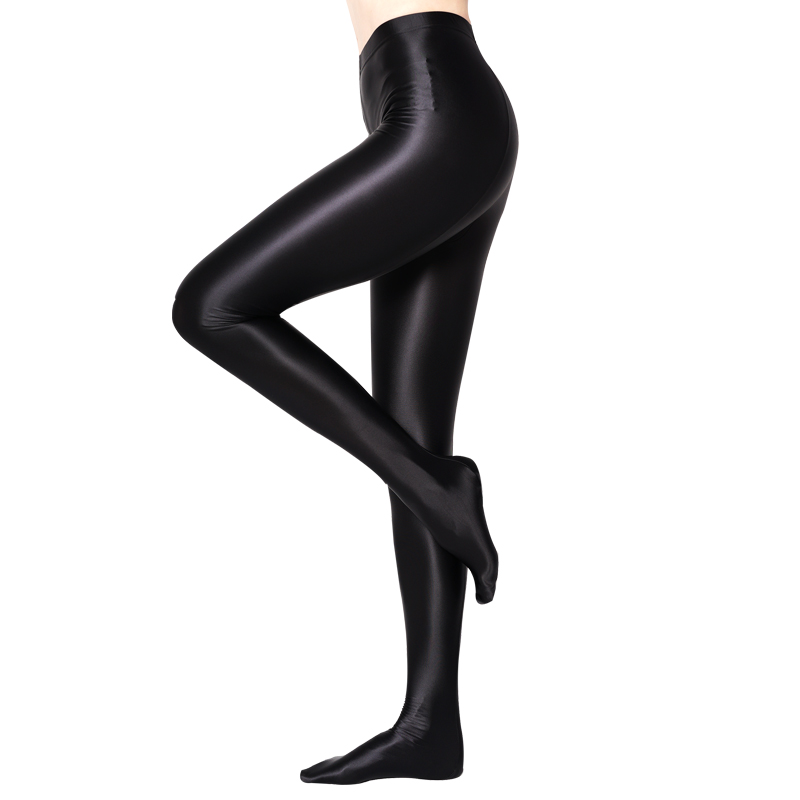 NEST Hyrax trends Ladies sexy pantyhose Sexy fashion slim Satin material Shiny opaque pantyhose High waist fitness pantyhose