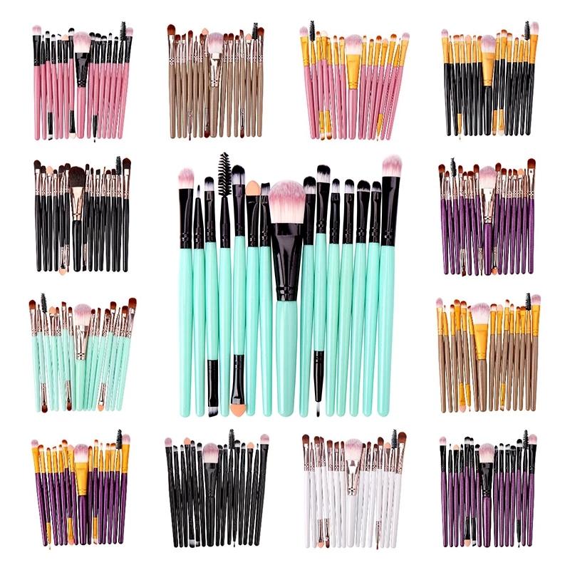 6/15PCs Makeup Brush Set Makeup For Face Make Up Tools Cosmetict Women Beauty Professional Foundation Blush Eyeshadow Consealer