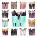6/15 набор кистей для макияжа, набор кистей для макияжа для лица макияжа Cosmetict Для женщин Красота профессиональная основа для макияжа лица Рум...