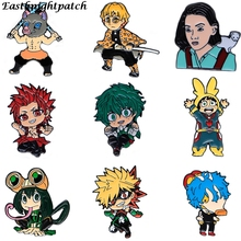 Custom-Brooch Badge Jewelry-Gift Lapel-Pin Anime Cute for Bag E2540 Fans Character