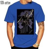 Camiseta estampada para hombre, camisa de manga corta de algodón, de Watchmen, Rorschach Night, de ajuste Regular, nueva de 2021
