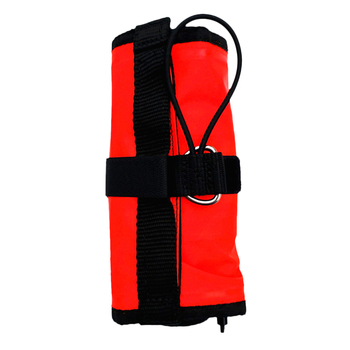 Safety Scuba Diver 4' Surface Marker Buoy Signal Tube, Finger Spool, Whistle