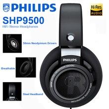 Philips SHP9500 профессиональные наушники с HiFi стерео наушники неодимовая гарнитура для Xiaomi SamSung Huawei официальный тест