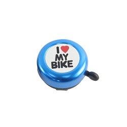 Górski klakson rowerowy dzwonek do serca w nowym stylu Perambulator Mini czerwony dzwonek do jazdy konnej akcesoria do dekoracji na