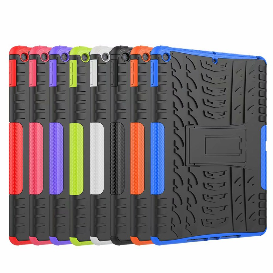 TPU PC Apple TPU for 7th/A2200/A2198 Armor-Case Film--Pen iPad Rugged Cover Shockproof