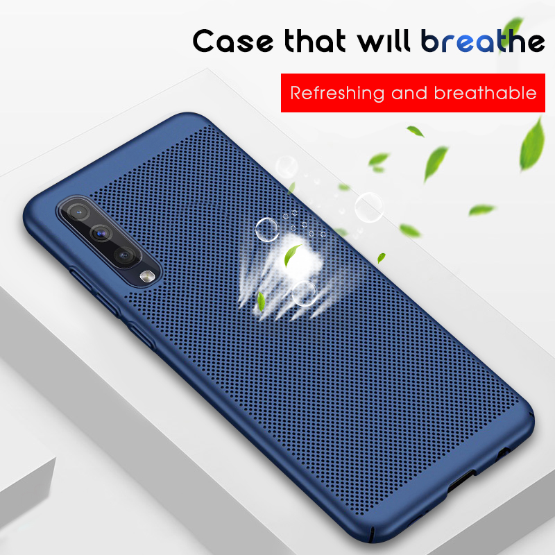 Heat Dissipation <font><b>Case</b></font> For <font><b>Samsung</b></font> <font><b>Galaxy</b></font> A70 A50 A10 A20 A30 A40 M10 <font><b>M20</b></font> M30 <font><b>Hard</b></font> <font><b>PC</b></font> Hollow Ultra Thin Protective <font><b>Case</b></font> Coque image