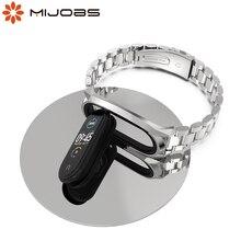 Mi Band 5 Strap Smart Bracelet My Band Strap 5 Metal Mi Band 4 Global Version Wristband for Mi Band Strap Miband 3 4 5 Watch