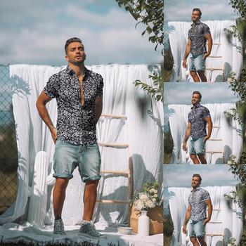 Camisa hawaiana de manga corta para hombre a la moda de 2020...