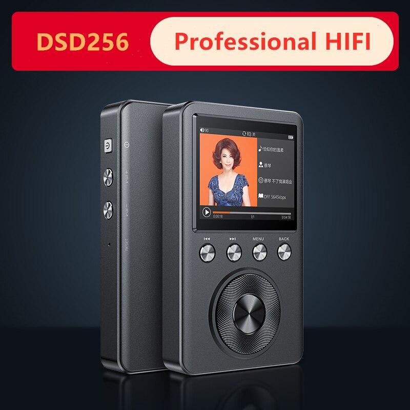 Shmci C60 professionnel haute qualité origine démo HIFI DSD256 sans perte DAC décoder CUE musique Mini sport HIFI audiophile lecteur MP3