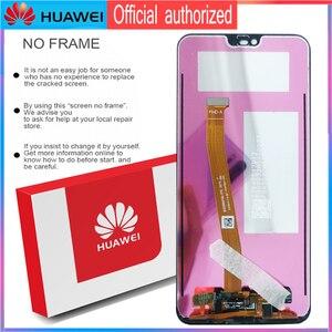 Image 5 - 100% orijinal LCD ile çerçeve + parmak izi HUAWEI onur 10 için ekran dokunmatik ekran Digitizer meclisi COL L29 onarım parçaları