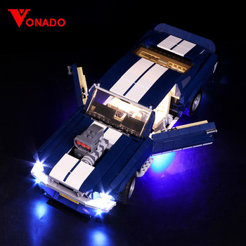 Led Light Kit For lego 10265 Creator Series Ford Mustang Building Block (NOT Include The Model) image