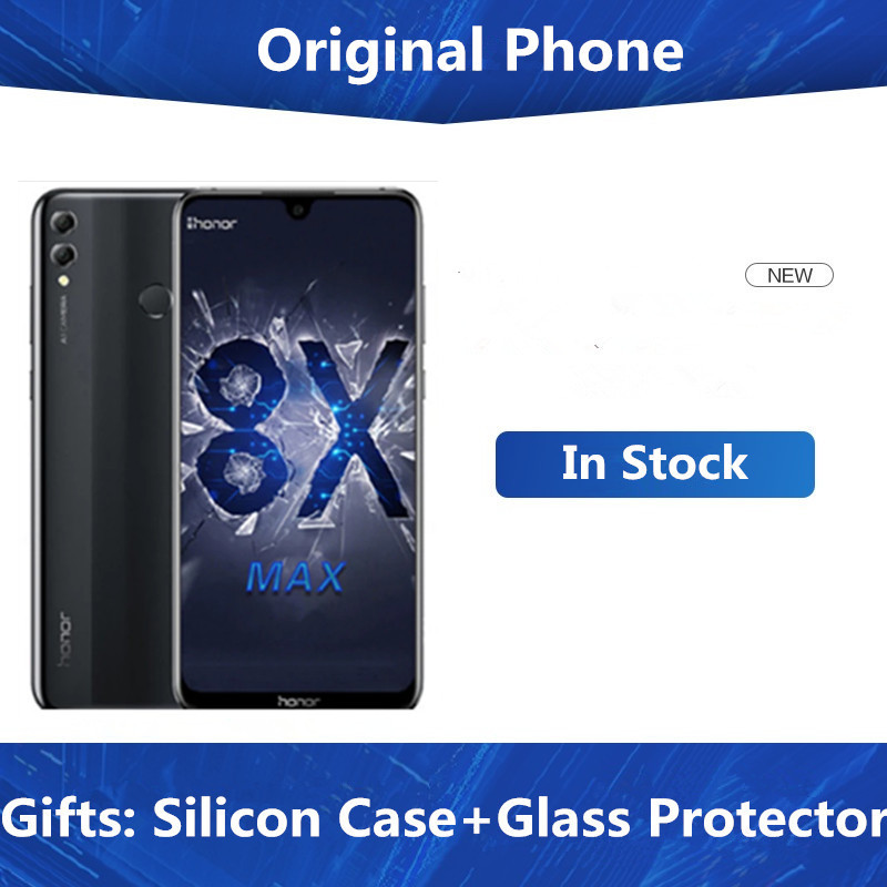 Оригинальный Смартфон Honor 8X Max, 4G LTE, Snapdragon 636/660, Android 8,1, 7,12 дюйма, FHD, 2244X1080, 6 ГБ ОЗУ, 128 Гб ПЗУ, 16 МП