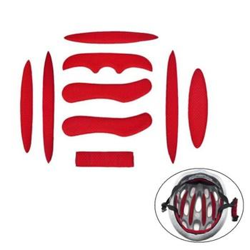 Balight kask wyściółka zestaw uniwersalne wkładki piankowe zestaw uniwersalny Airsoft kask klocki dla rowerów kask motocyklowy tanie i dobre opinie Kask Prim Unisex bicycle helmet pad sponge