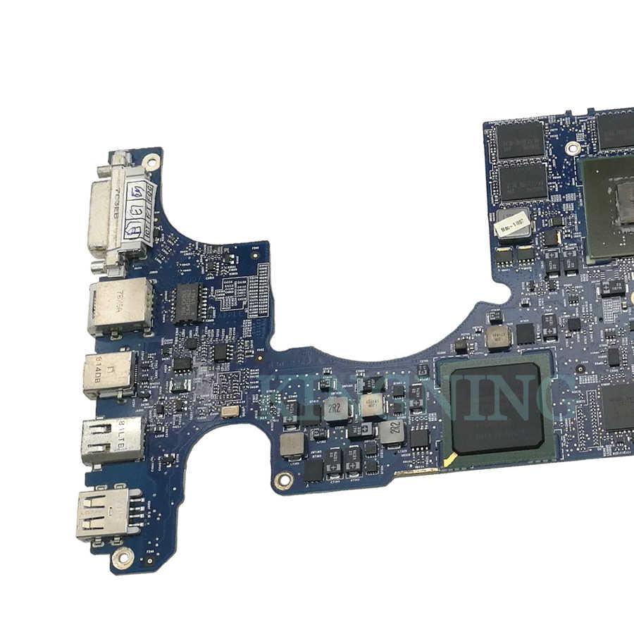"Placa base de 661-4963 17 ""para Macbook Pro A1261 CPU 2,5 GHz T9300, placa lógica 820-262-a MB166LL/UN AÑO 2008"