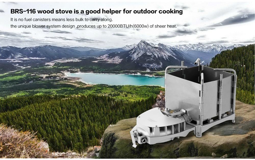 Brs 6000w acampamento ao ar livre fogões