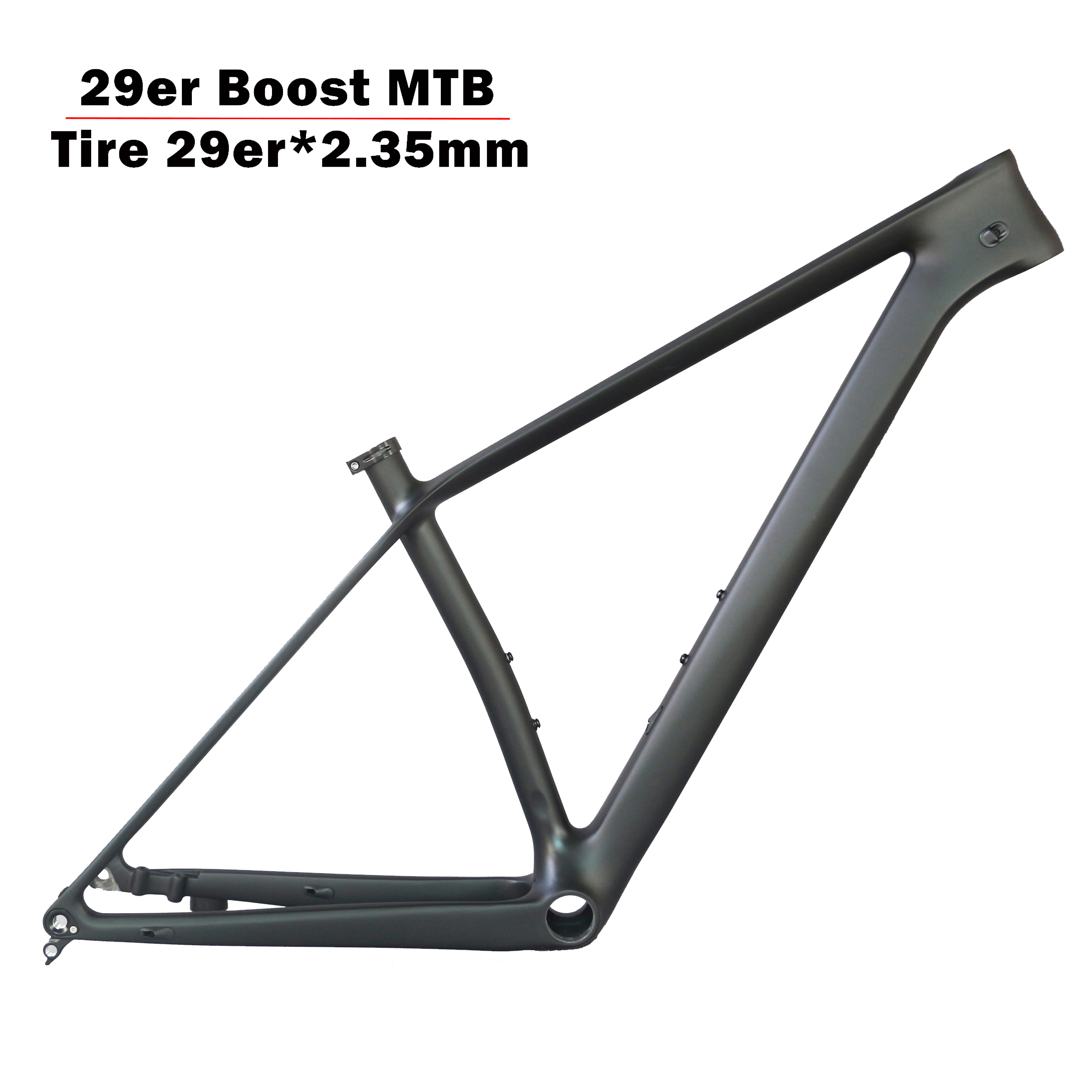 2019 Super Light FM199 Carbon Mountain Bicycle Frame 29er Boost 29er Plus  BB92 With 29er*2.35 Tire