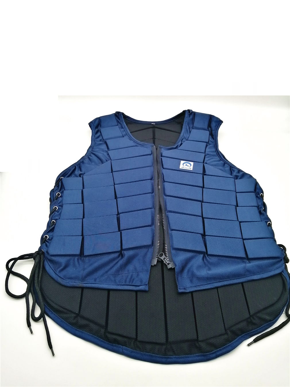 Adults Kids Equestrian Protective Horse Vest Horse Riding Vest Body Protector Safety Waistcoat Dark Blue