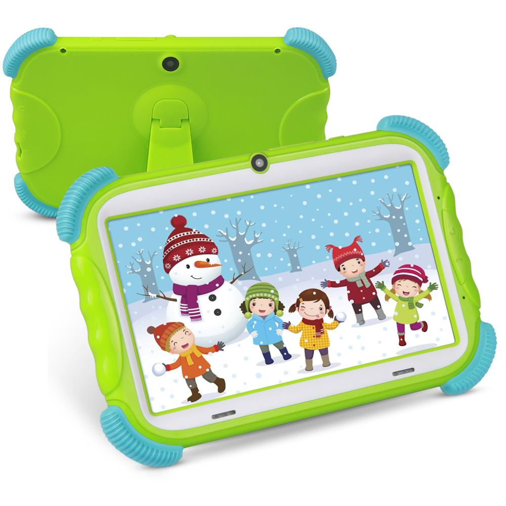 NEW Kids Tablet 7 Inch Android 8.1 16GB Babypad Edition PC With Wifi And Camera GMS Certified Supported Kids-Proof Case Stand