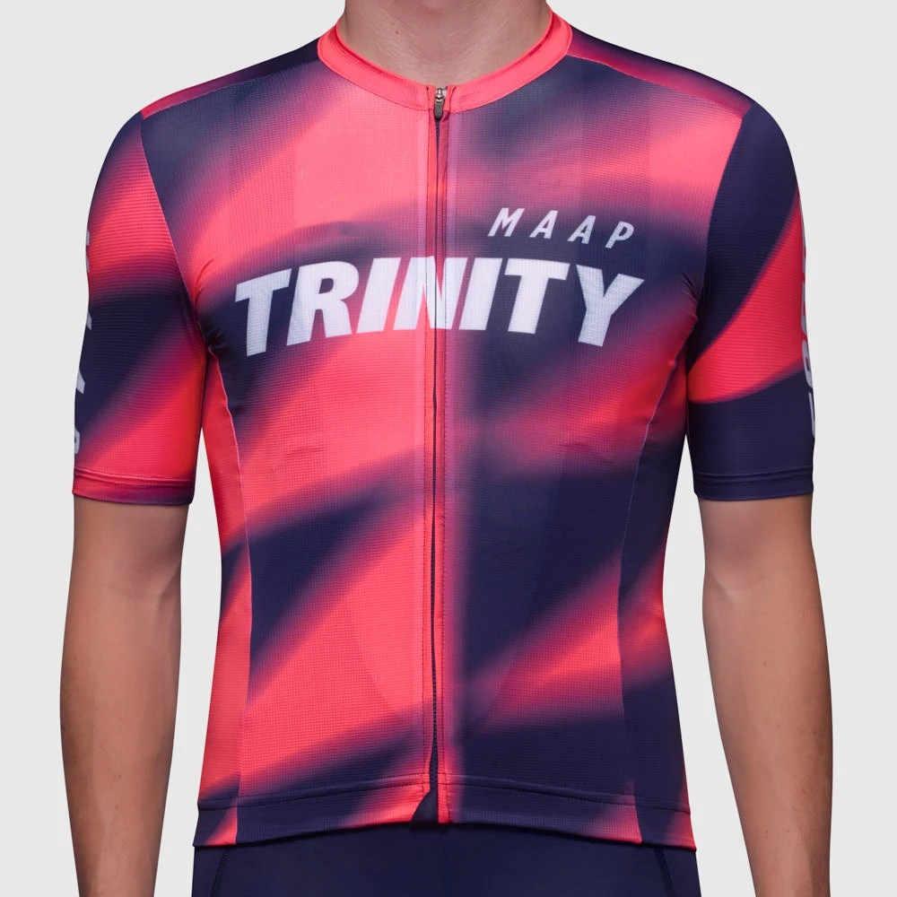 2020 MAAP hommes manches courtes cyclisme trinité-racing-supporter-équipe-maillot uniforme vtt cuissard à bretelles encore-pro-base-jersey