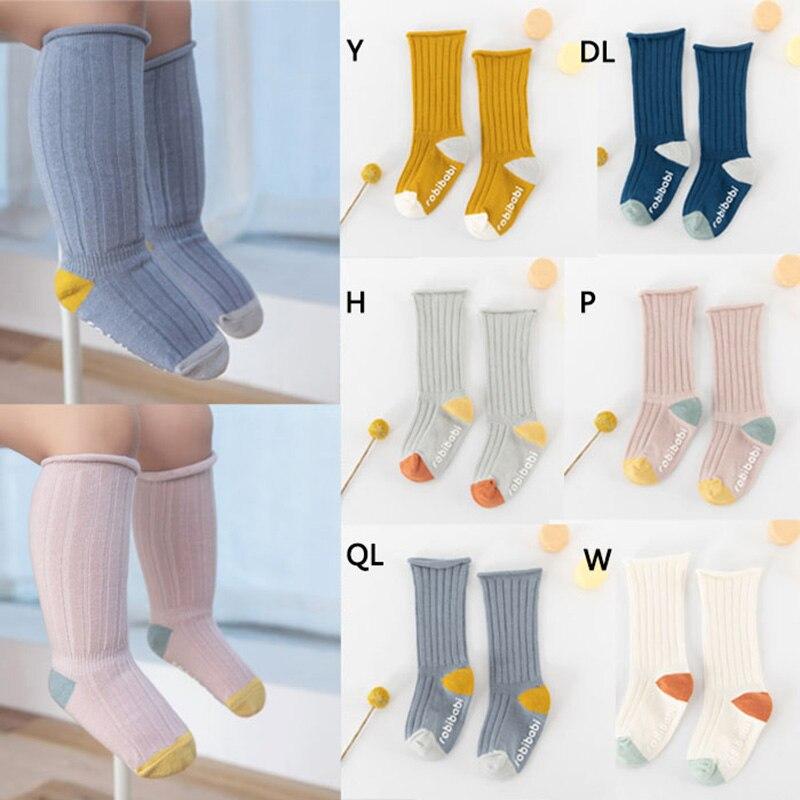 Nuevos calcetines para bebé de Otoño de algodón con lunares y rayas lisas calcetines para niños y niñas de 1 a 3 años 3D Delune primaria mochilas de escuela para niñas de búho de dibujos animados los niños ortopédicos libro carteras 6-108 Mochila de grado 1-3