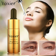 Yoxier Retinol Eye Serum Anti Aging Eye Cream Firming Lifting Eye Bags Wrinkles Moisturizing Anti-Puffiness Remove Dark Circles