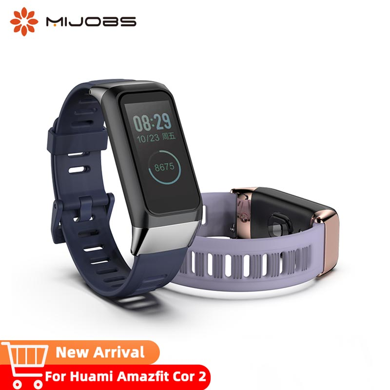 For Huami <font><b>Amazfit</b></font> <font><b>Cor</b></font> <font><b>2</b></font> <font><b>Strap</b></font> Smart Wrist <font><b>Strap</b></font> Sport Bracelet Silicone Replacement Wristband Accessories image