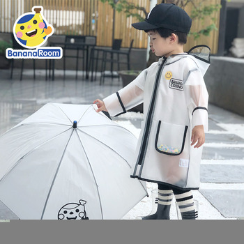 Nylon Waterproof Raincoat Jacket Kids Plastic Raincoat Kids Boys Lightweight Outdoor Capa De Chuva Infantil Rain Gear 60YY