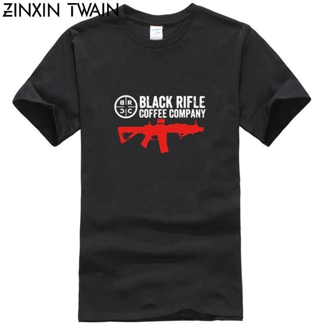 New Black Rifle Coffee Company Black T Shirt S M L XL 2XL 3XL 100% Cotton Men T Shirt Women Tops Tee