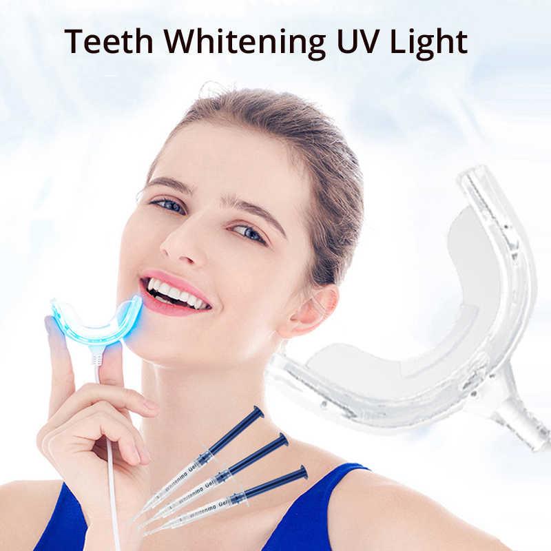 16 Led Teeth Whitening Light Whitening Gel 480 520nm Uv Light 6 5