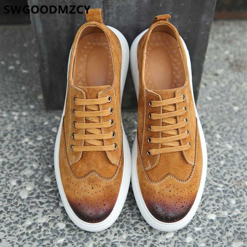 Mens Casual Shoes Hot Sale Brogues Mens