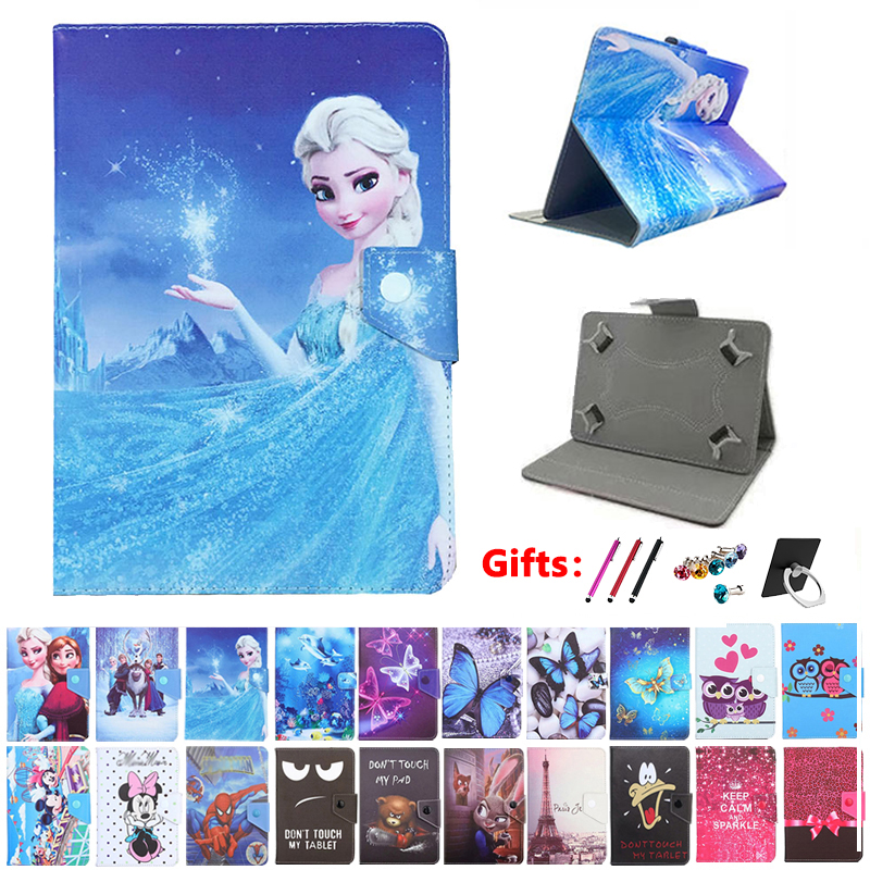 Universal Cartoon Cover For Alcatel ONETOUCH ONE TOUCH 1T 7