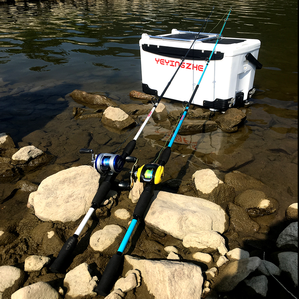 GHOTDA Ultra Light Fishing Rod with Casting and Spinning Handles and Stable and Strong Reel Seat 1