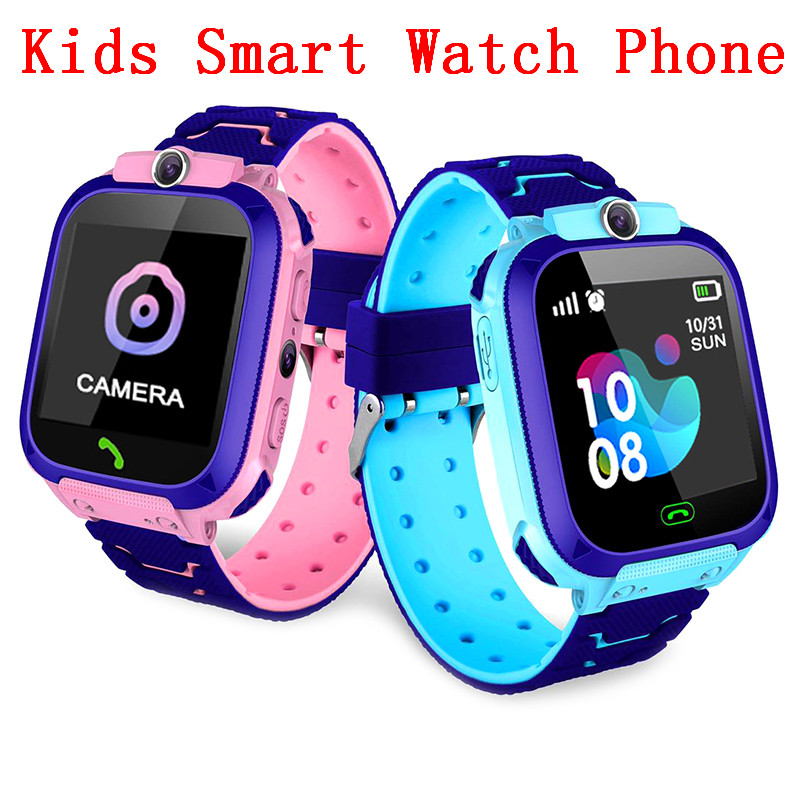 New Not Waterproof Q12 <font><b>Smart</b></font> <font><b>Watch</b></font> Multifunction Children Digital Wristwatch Baby <font><b>Watch</b></font> <font><b>Phone</b></font> For IOS Android Kids Toy Gift image