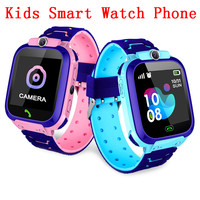 Novo Não Q12 À Prova D' Água Relógio Inteligente Multifuncional Crianças Digital relógio de Pulso Relógio Do Telefone Para IOS Android Crianças Brinquedo Do Bebê Presente|Relógios inteligentes| |  -