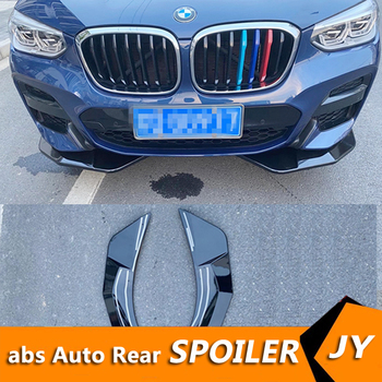 For BMW X3 G01 Body kit spoiler 2018-2020 For BMW X4 G02 ABS Rear lip rear spoiler front Bumper Diffuser Bumpers Protector image