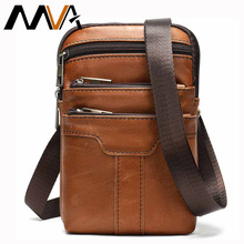 MVA Male Fanny Pack Belt Bag Men's Waist Bag Phone Pouch Bags Genuine Leather man Waist Packs Leather Pouch Travel Waists Pack