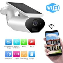 SNOSECURE HD1080P 2MP Outdoor Waterproof Solar Powered Battery Wifi IP Camera IP66 grade waterproof CCTV Surveillance P2P Camera