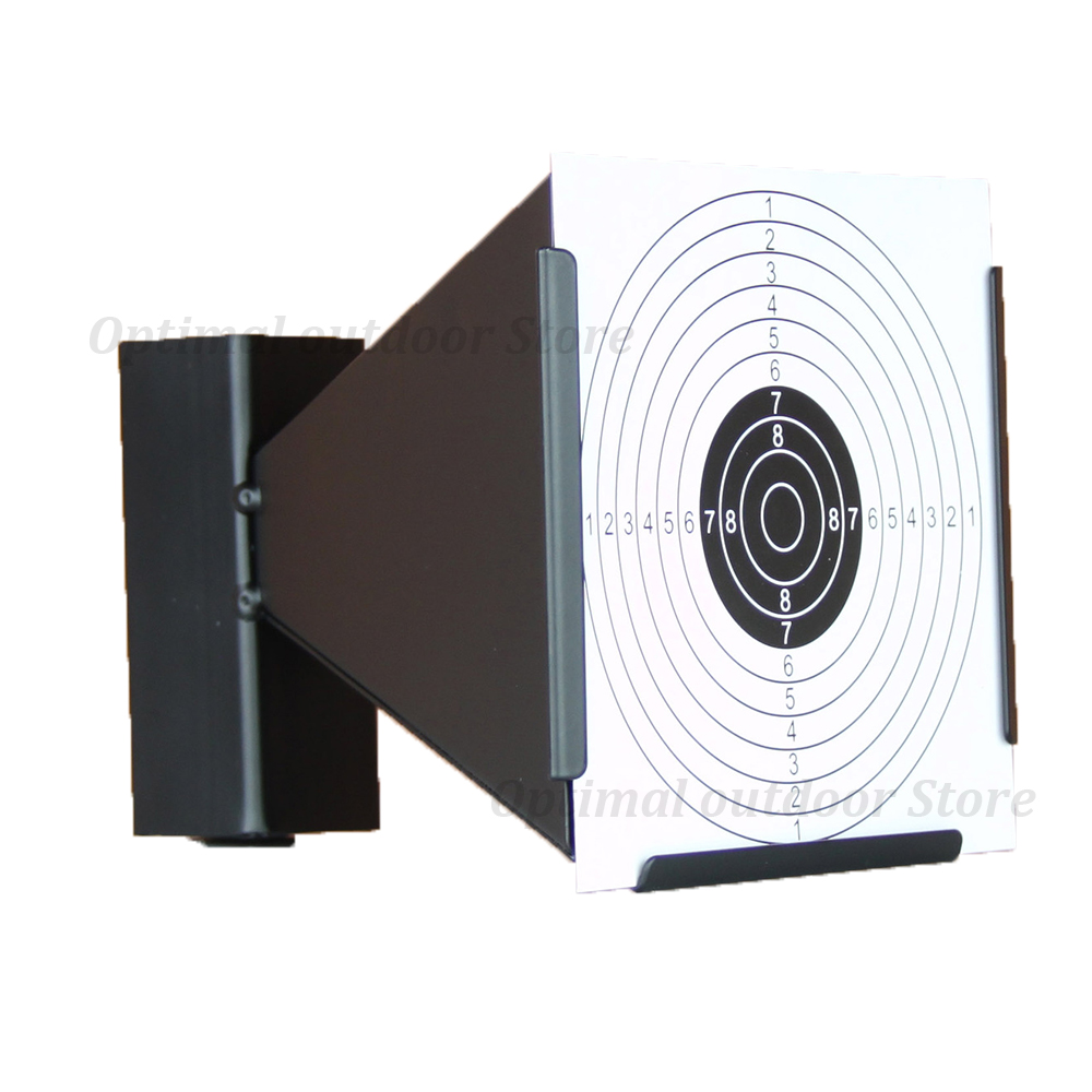 TOtrait High Quality Tactical 14cm Funnel Shooting Target Holder Pellet Trap Paintabll Hunting Accessories