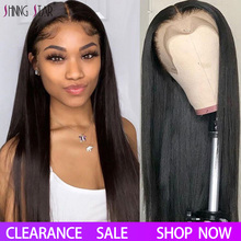 13X4 Lace Front Human Hair Wigs Black Women Pre Plucked