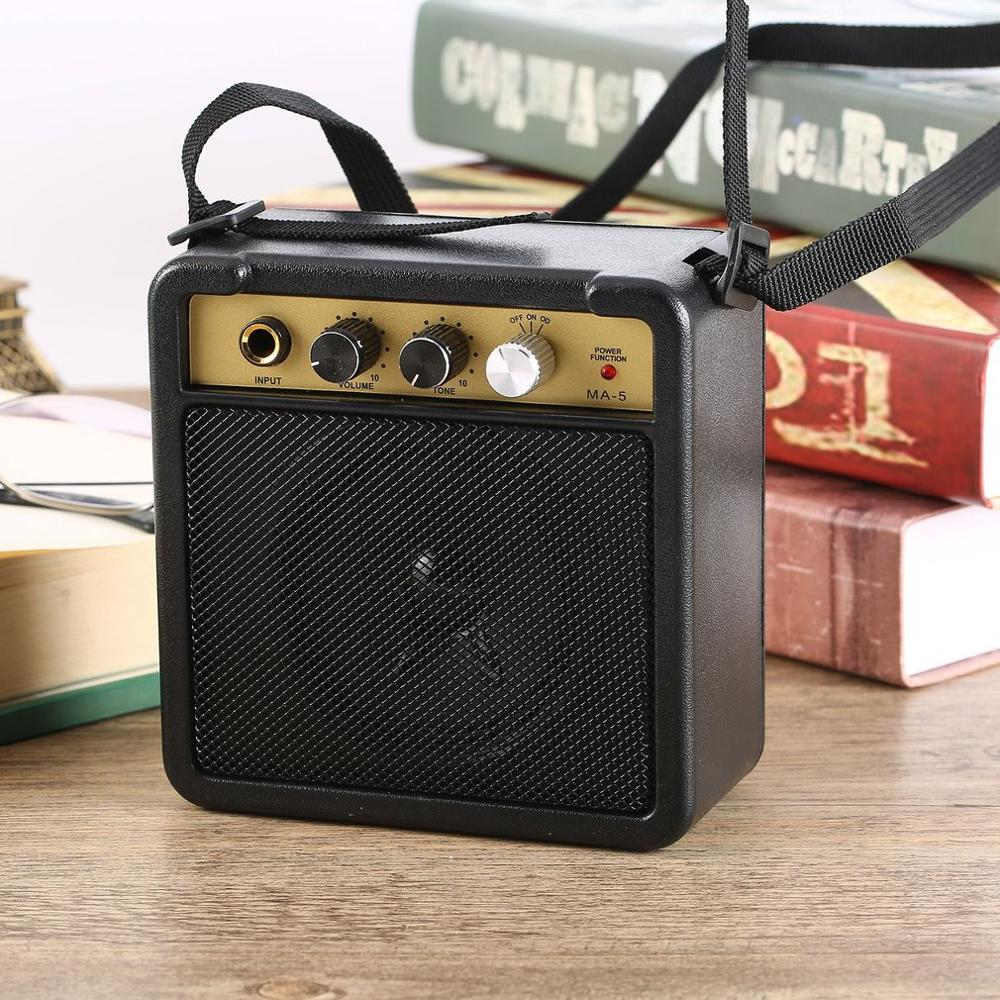 E-WAVE Mini Guitar Amplifier Guitar Amp With Back Clip Speaker Guitar Accessories For Acoustic Electric Guitar Accessories Part