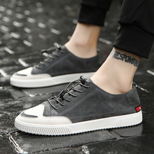Genuine Leather Sneakers Men Leather Loafers Shoes Fashion Casual Leather Shoes for Men Sneakers Designer Shoe Men Zapato Hombre fashion men shoes handmade made casual shoes sneakers genuine leather shoes men lace up flats mocasines hombre dropshipping