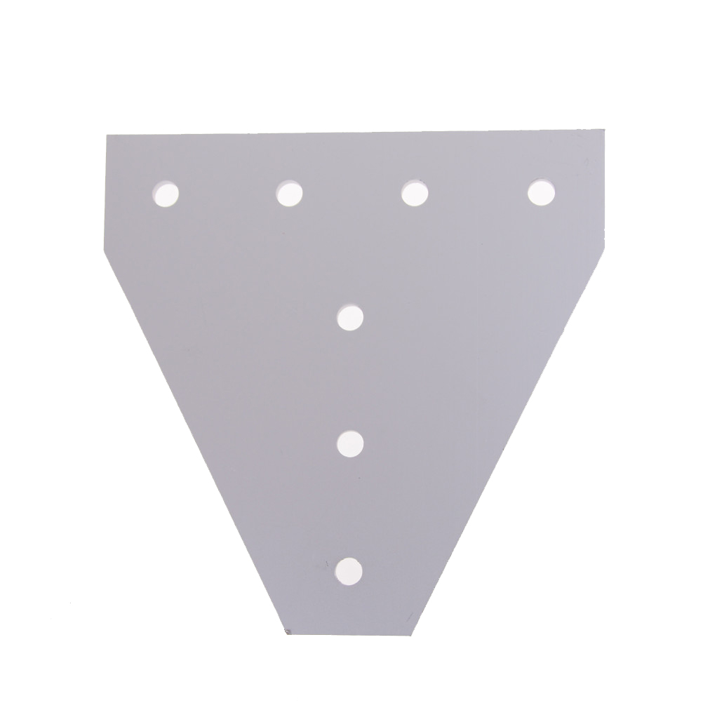 Hot Sale Joint Board <font><b>Plate</b></font> <font><b>Corner</b></font> Angle Bracket Connection Joint Strip for Aluminum Profile <font><b>2020</b></font> 3030 with 5 holes image