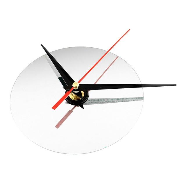 Modern DIY Interior Roman Wall Clock Wall Clock 3D Sticker Home Mirror Effect 4 Style High Quality 3D Wall Stickers 6