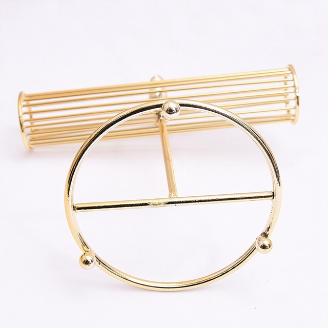 Hot Deal 5d750b New Fashion Gold Plated Watch Bracelets Necklace Earrings Display Rack T Bar Jewelry Display Stand Pendant Display Holder Cicig Co