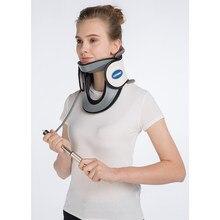 LEAMAI Air gonflable col Cervical cou Traction tracteur soutien Massage oreiller soulagement de la douleur Relax soins de santé cou tête Stret